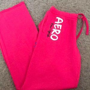 Aero Hot Pink Sweats